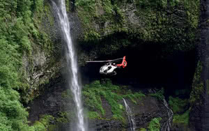 Survol en Hélicoptère : Tour de l'île de la Réunion